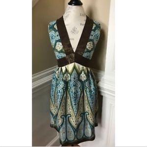 Anthropologie Anna Sui Dress Sleeveless 4 NWOT S